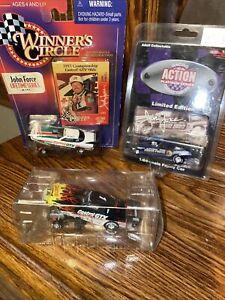 Winners Circle John Force 1997 Funny Car Series 1/24  racing NEW Lot Of 3