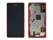 Genuine Sony D5803, D5833 Xperia Z3 Compact Orange LCD Screen & Digitizer & Fram