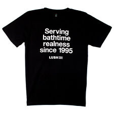 Lush UK Kitchen Serving Bathtime Realness T-Shirt Medium