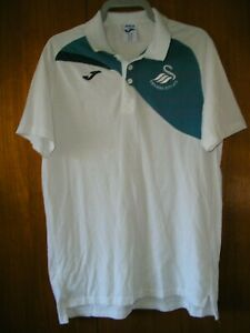 Swansea City Football Shirt Joma Training Polo Style Shirt size M 38/40