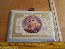 Miss Piggy One in a Million wooden plaque 1981 $1 HTF Muppets