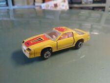 Yatming No 1086 - Chevrolet Camaro Z28 - Yellow