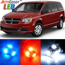 8 x Premium Xenon White LED Lights Interior Package Upgrade Dodge Grand Caravan