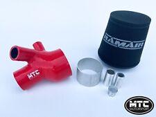 MTC MOTORSPORT PEUGEOT RCZ THP 156 & 207 GTI GT 1.6T INDUCTION KIT RED