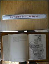 LIBRO DA TORINO TUTTO INTORNO ANDAR PER CASTELLI PAUL WINNER MILVIA TORINO