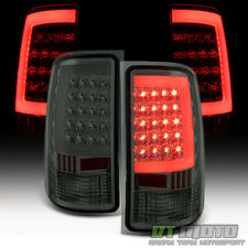 Smoked Lens 2007-2013 GMC Sierra 1500 2500 HD 3500 HD LED Tube Tail Lights Lamps
