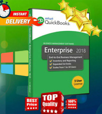 Intuit QuickBooks 2018 Enterprise(PRO EDITION)🔐70% OFF ✅ License Key🔥 9 PC