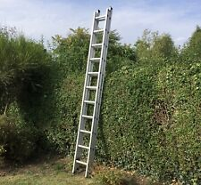More details for ladder aluminum 2 section 18ft 22 rungs roof