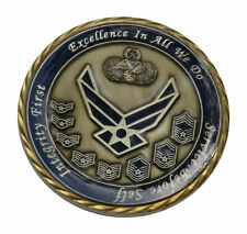 US Air Force For Leadership by Example, CMSgt Jose Silva Challenge Coin