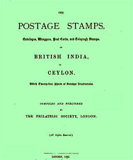 INDIA. The Postage Stamps of British India and Ceylon