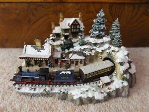 Winter Wonderland Danbury Mint Country Lines Collection Jane Hart Train Model