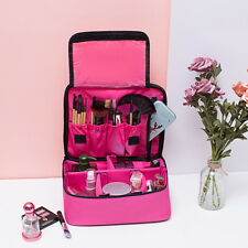 Professional Make-Up Bags Case Box Cosmetic Nail Tech Storage Beauty Bag #