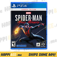 PlayStation 4•Marvel's Spider-Man MILES MORALES (LAUNCH EDITION)🍯PS4 Video Game