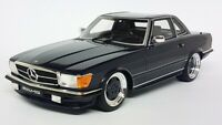 Otto 1/18 Scale Resin - OT342 Mercedes Benz 560 AMG R107 1979 Midnight Blue