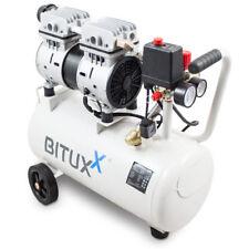 BITUXX® 24L Druckluftkompressor Silent Flüster Leisekompressor Druckluft Ölfrei