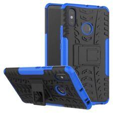 For Xiaomi Redmi Note 6 pro Hybrid Case 2 Pieces Outdoor Blue Case Cover