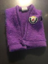 Genuine Barbie Ken Purple fleece vest