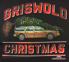 Christmas Vacation Griswold Christmas Tee T Shirt Black Men's M NWT New