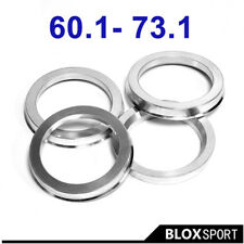 A set 4pcs Wheel Hub centric ring ID=60.1 OD=73.1 Aluminum Alloy Ring For Toyota