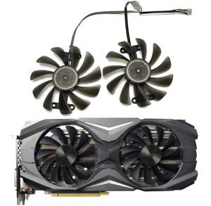 Fan Replace For Zotac GeForce GTX 1070 1080 AMP Edition 2PCS/lot 95mm GPU Cooler