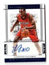Panini Autographed National Treasures Basketball Trading Cards