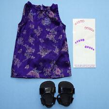 American Girl 1999 Karaoke Dress Shoes Purple Toe Decals Pleasant Co Retired