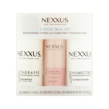 Nexxus Therappe Humectress and Comb Thru Finishing Mist, 3-Piece Trial Set