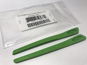 Oakley Turbine OO9263 Rotor OO9307 OJ9003  Green Ear Socks Replacement Genuine
