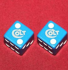 Colt Firearms Factory Blue Dice