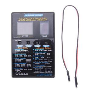 HobbyWing LED program Box General for XERUN and EZRUN Series Car Brushless ESC