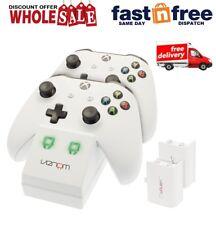 Venom-Xbox One S doble estación de acoplamiento con 2x Batería Recargable Packs único