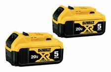 DEWALT DCB206-2 20V Max Premium Lithium-Ion 6.0Ah Battery - 2 Pieces