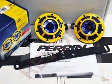Perrin Mounting Bracket & Yellow Hella Supertone Horn For 15-17 WRX/ STi