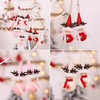 2pcs Christmas Angel Doll Pendant Xmas Tree Hanging Ornament Party Decoration