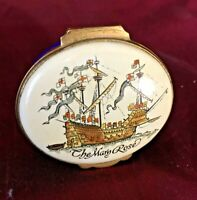 Crummles English Enamels 'The Mary Rose' Limited Edition Pill Box