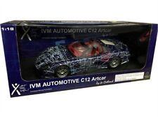 CALLAWAY C12 MUKO CAR BLUE DIE CAST MODEL CAR BY AUTO ART 71014