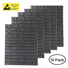 Premium Open Top Antistatic Bag Large 12X16inches ESD Shielding Anti Static Bags