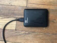 WD My Passport 2TB External Portable USB 3.0 Drive WDBY8L0020BBK Win/Mac
