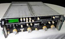 Watkins Johnson WJ-9026A Receiver and WJ-9026A/DU Display Radio HF VHF UHF