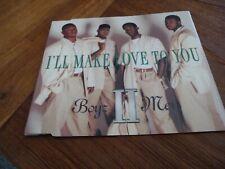 BOYZ II MEN - I'LL MAKE LOVE TO YOU (4 TRACKS)