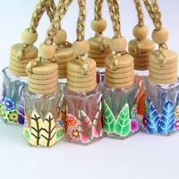 FT- Ethic Printed Freshener Air Hanging Fragrance Car Perfume Diffuser Bottle Mo