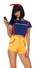 LEG AVENUE HIPSTER SNOW WHITE DISNEY FANCY DRESS COSPLAY COSTUME SMALL S 8/10
