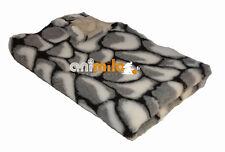 Tapis Confortbed Vetbed Dry Extra motif pierres noir-gris-blanc,26 mm 50x75 cm