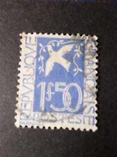 FRANCE 1934 timbre 294, COLOMBE DE LA PAIX, oblitéré, VF used STAMP