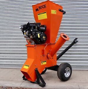 6.5HP Compact Series Chipper Shredder By Rock Machinery