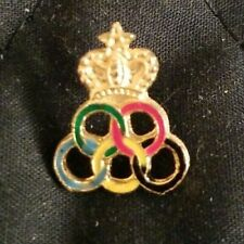 Morocco Olympic Undated NOC 1984 Los Angeles Olympics Hat Lapel Pin