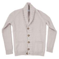 NWT $1325 BALLANTYNE Knit Cashmere Shawl Collar Cardigan Sweater S (fits M)
