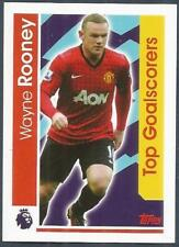 TOPPS 2017 PREMIER LEAGUE- #169-MANCHESTER UNITED-WAYNE ROONEY-TOP GOALSCORERS