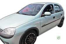 Dop25366 Vauxhall Corsa C 5 PORTE 2000-2006 deflettori del vento 4pc HEKO colorata