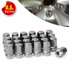 Buyer Needs to Review The spec 20pcs 2.32 Chrome 14mm X 1.50 Wheel Lug Nuts fit 2011 Chevrolet Tahoe May Fit OEM Rims